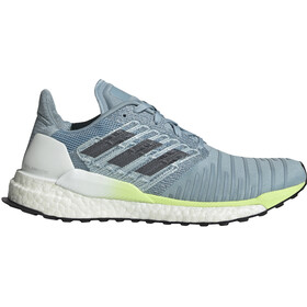 adidas Solar Boost Chaussures Femme, ash grey/onix/hi-res yellow
